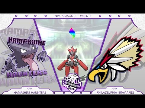 NPA Season 3 Week 1- Philadelphia Braviaries vs Hampshire Haunters!