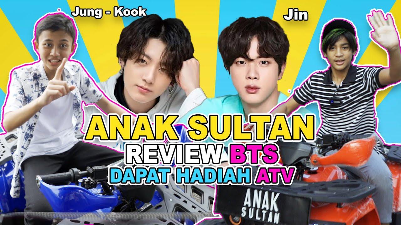 REVIEW BTS DAPAT HADIAH ATV | KENZY NgeFans BANGET sama JIN dan JUNGKOOK