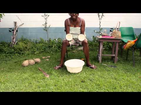 How to Make Coconut Oil - Torres Strait