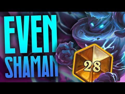Is Even Shaman Still Good After Nerfs? | Rastakhan's Rumble | Hearthstone