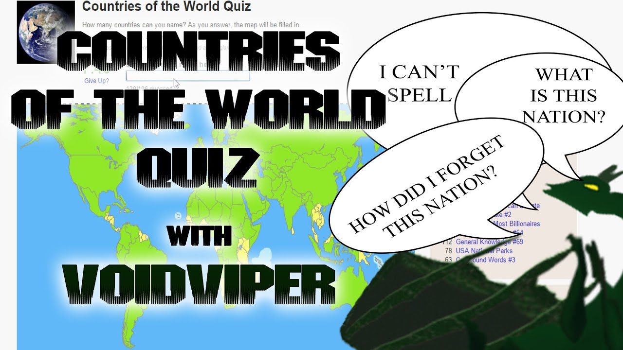 Countries of the World Quiz with VoidViper  YouTube