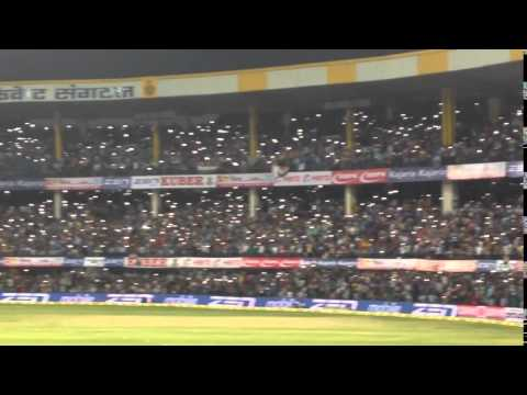 India vs south africa 2nd ODI Holkar Cricket Stadium, Indore mobile  tourch wave