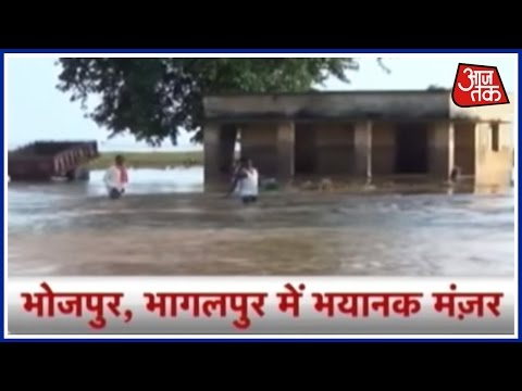 Half Of Bihar Crippled With Flood, Half Of Bihar Crippled With Drought