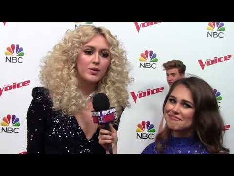 Chloe Kohanski THE VOICE Top 8 INTERVIEW