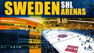 Arenas In Sweden (SHL)