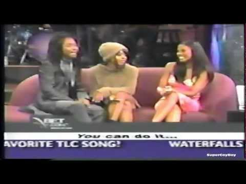 Left Eye and Chilli (TLC) live from L.A. interview