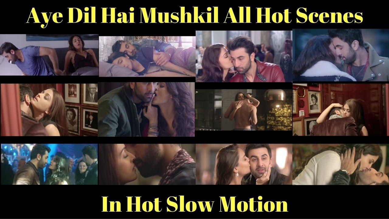 Download Aye Dil Hai Mushkil Hot Scenes (SLOW MOTION)