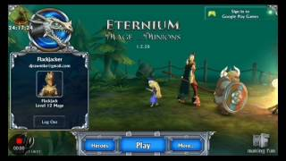 ETERNIUM: Mage and Minions First level
