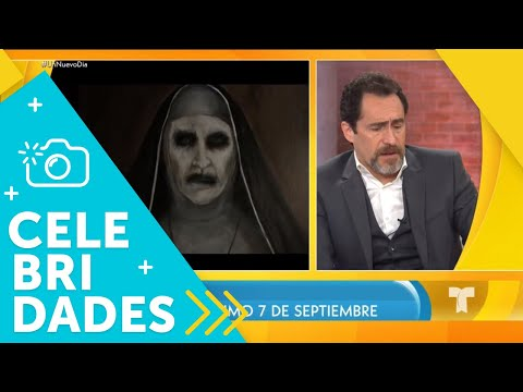 """Demian Bichir nos asusta con su nueva película """"The Nun""""  Un Nuevo Día  Telemundo"""