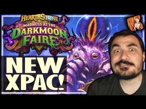 DARKMOON FAIRE NEW XPAC + CARD REVIEW! - Hearthstone Darkmoon Faire