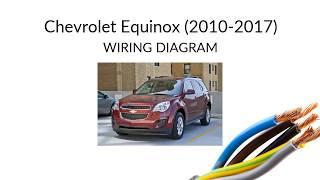Chevrolet Equinox - 2010-2017 - wiring harness diagram - YouTubeYouTube