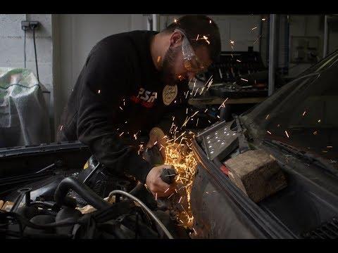 | E30 V8 #5 | On déporte le système de freinage ! - PSR TV -