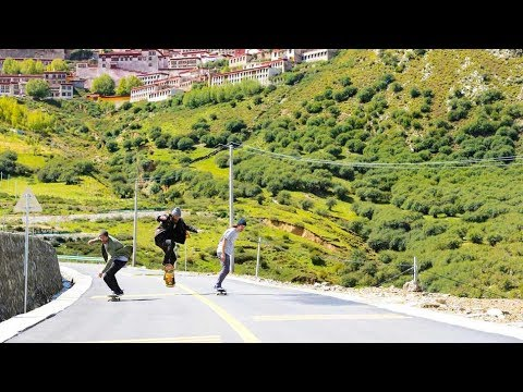 "Skate Adventure to Tibet | Madars Apse ""The Way to Everest"" EP1"