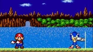 Fusion De Sonic y Mario