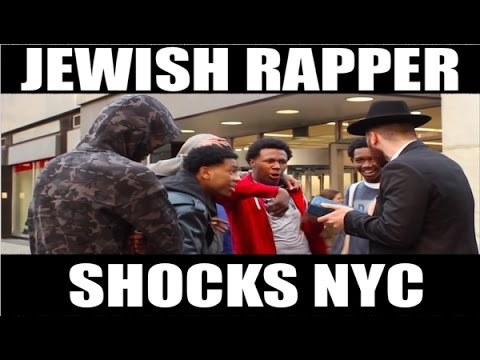 JEWISH GUY RAPS IN NYC