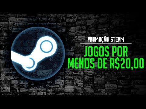 download BONS jogos por MENOS de R$ 20,00 na STEAM (Promoção STEAM)