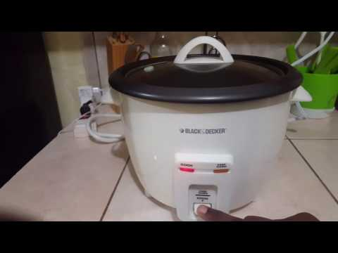 Black & Decker Rice Cooker