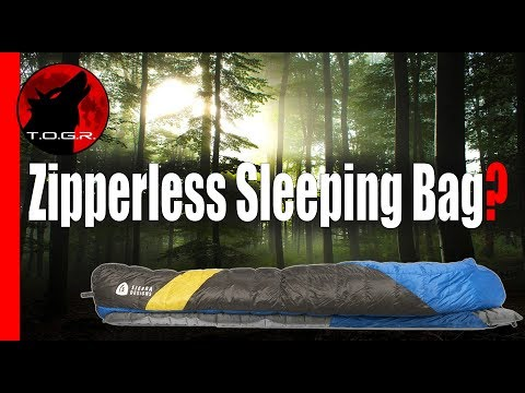 Sierra Designs Cloud 35 Sleeping Bag – Zipperless Sleeping Bag Review