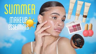 MY SUMMER MAKEUP ESSENTIALS FOR A FLAWLESS DEWY NATURAL BEAT