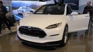 2014 Tesla Model X - Interior & Exterior - The Driver