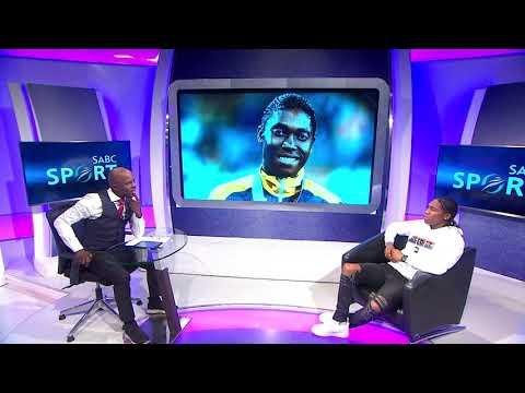 Caster Semenya speak to Thomas Mlambo about  IAAF Rule