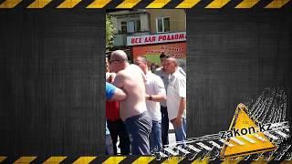 Драка в Алматы