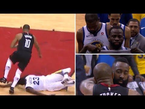 Clutch/Choke Moments of Warriors vs Rockets Game 5 WCF | Bad Offense