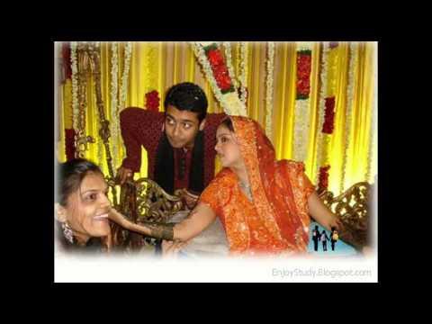 Jyothika Mehndi Ceremony : Surya jyothika marriage album youtube