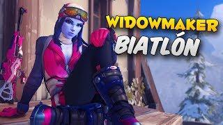 ¡DOY DISPAROS! Algunos al menos :D | Widowmaker Biatlón