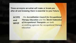 Occupational Therapy Licensing Requirements For States In Federal Region VI