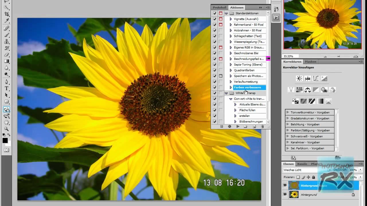 Photoshop QuickTip - Farben verbessern - YouTube