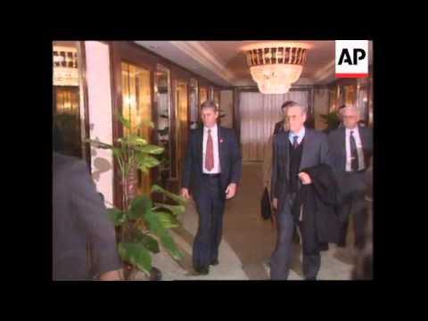 China - Treasury Secretary Lloyd Bentsen Visit