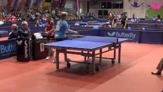 EYC 2014, Junior Girls Singles: Audrey ZARIF (FRA) vs. Airi AVAMERI (EST)
