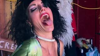 AMY G -- Let's Go Crazy (Prince) in a circus trailer