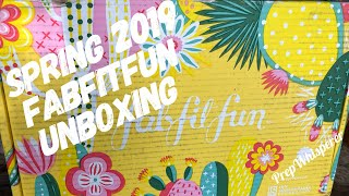 Spring 2019 FabFitFun Unboxing !!