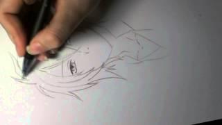 [Sketch] Okita Souji (Hakuouki Shinsengumi Kitan)