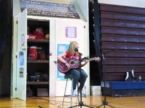 Olivia at Jefferson Intermediate School