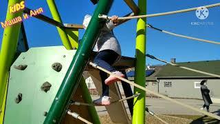 Детская игровая зона площадка с Машей и Аней / Весёлые истории про  KIDS Маша и Аня