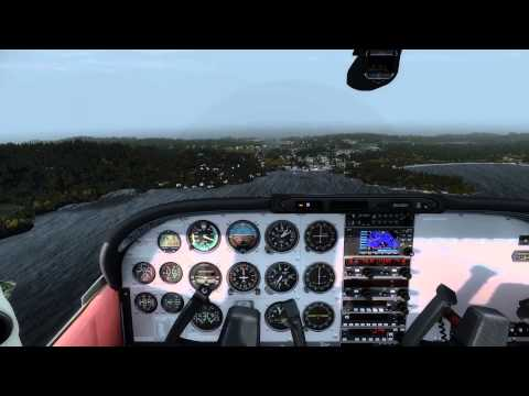 Another A2A C182 Skylane at ORBX Orcas Island (KORS) in P3D V2