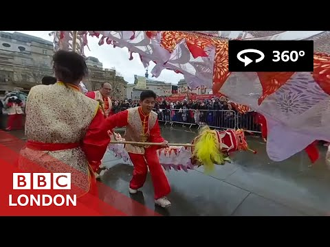 360° Video: Chinese New Year in London – BBC London