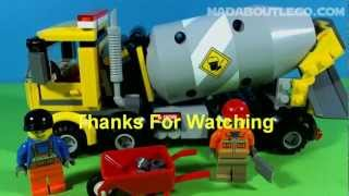 Repeat youtube video LEGO CITY CEMENT MIXER 60018
