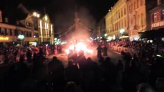Strohhexenverbrennung 2015 in Offenburg
