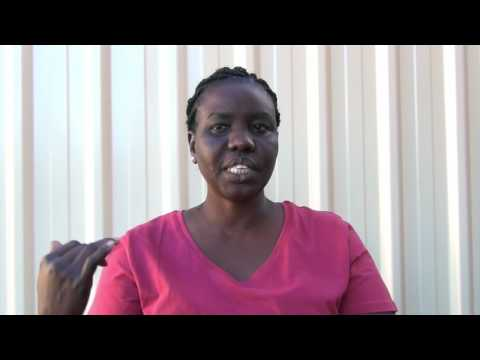 Dr Victoria Achut inviting medical support for South Sudan