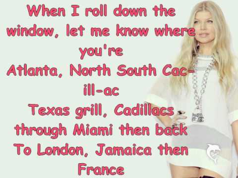 Fergie- L.A. Love(Lyrics)