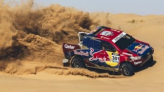 2 Time Dakar Winner Ripping Through Sand Dune...