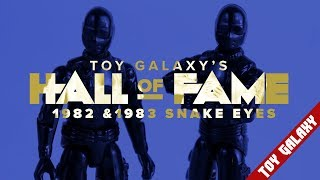 Vintage GI Joe Snake Eyes - Hall of Fame #1