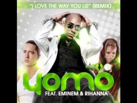 Yomo Ft Eminem  Rihanna   I Love The Way You Lie Official Remix