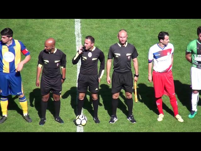 FC Alverca vs Atl Cacém - Resumo do Jogo