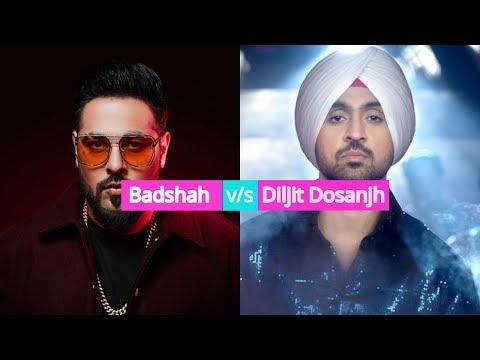 Badshah Songs Vs Diljit Dosanjh Songs || Proper Patola - Official Video Song