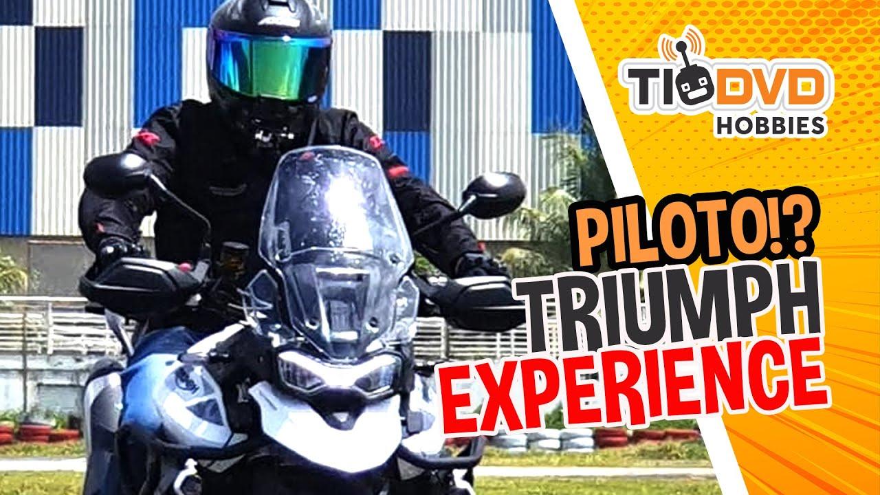FIZ O CURSO DE PILOTAGEM TRIUMPH TRX SALVADOR TIGER 900 GT PRO TESTE CAMERA DJI OSMO ACTION MOTOVLOG